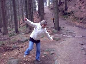 duben 2009 - Liščí stezka (pro děti) u Mumlavských vodopádů (Harrachov)