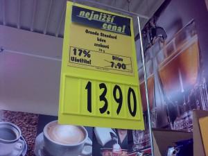 Na skok do obchodu - nechci slevu zadarmo! :)