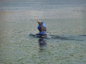 Sportovci řádili na vodě...